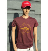 T-Shirt Homme Rouge...